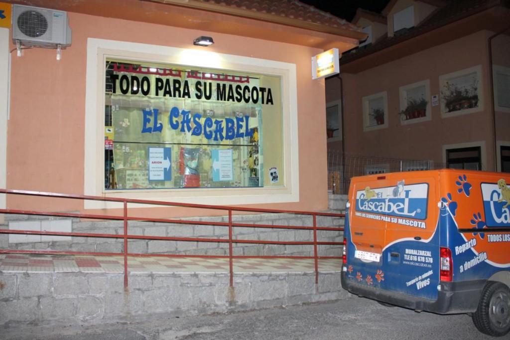 La fachada de El Cascabel.