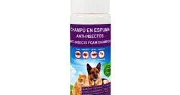 Champú en Espuma Anti-Insectos de Menforsan