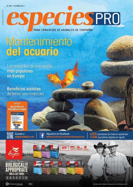 EspeciesPRO 209, octubre 2017 - Mantenimiento del acuario