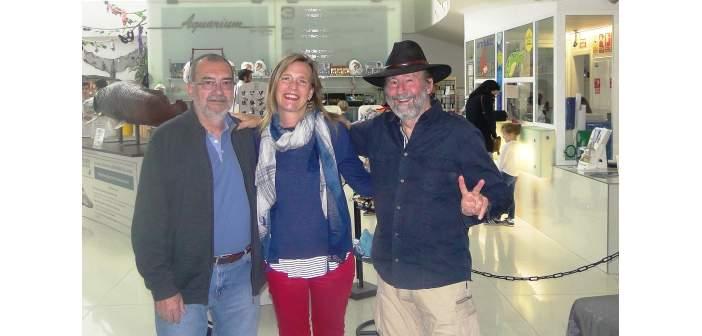 Con Heiko Bleher en el Acuario de Zaragoza