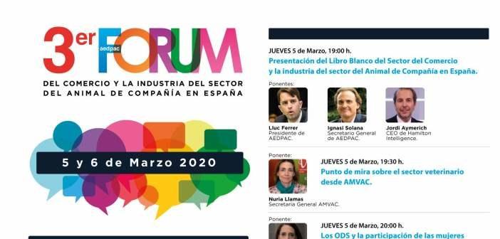Programa oficial del Forum de la Industria y el Comercio del Sector