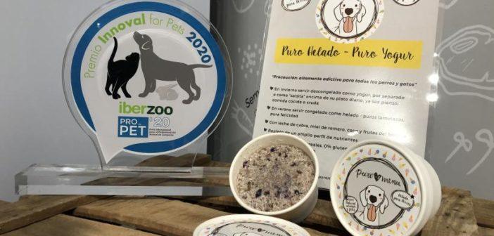 Puro Helado, de Puromenu, premio Innoval for Pets 2020