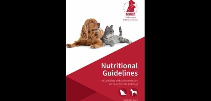Nueva versión de las Directrices Nutricionales de la FEDIAF para alimentos para perros y gatos